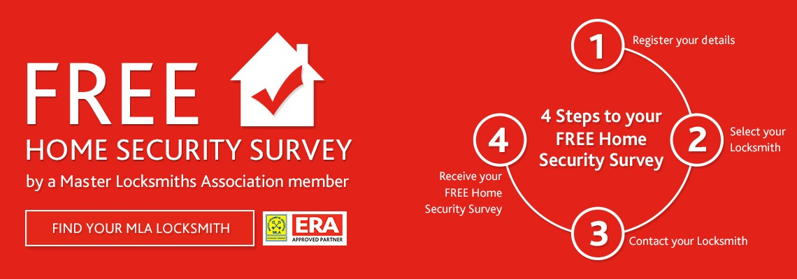 4  Steps to your home security survey