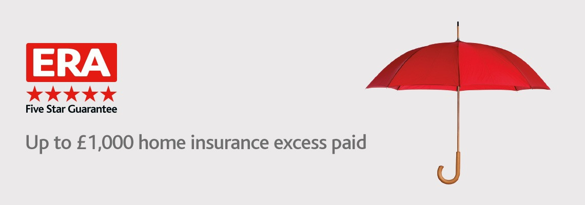 Up to £1,000 home insurance excess paid