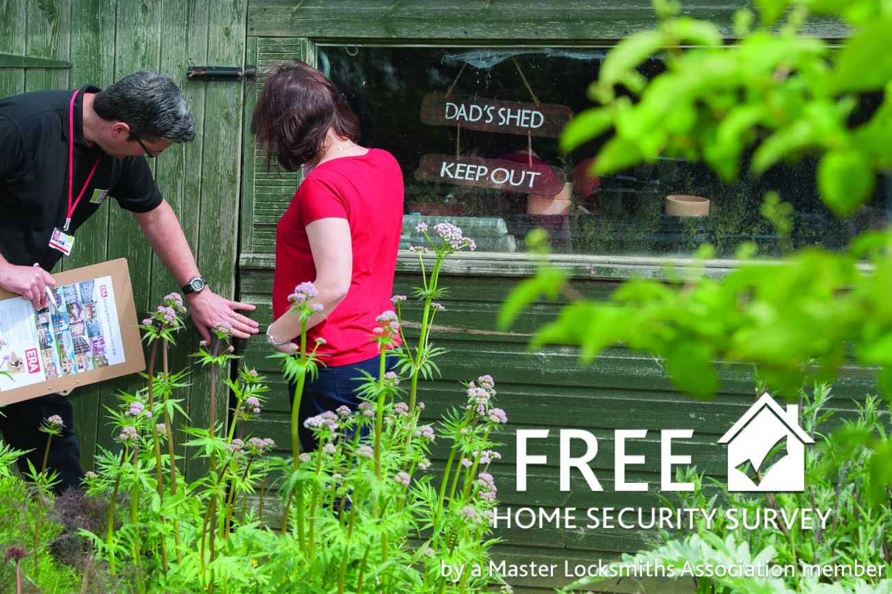 Free security survey for every homeowner in the UK
