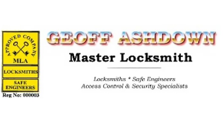 Geoff Ashdown Master Locksmiths