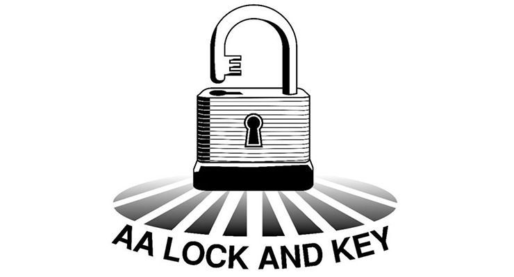 AA Lock and Key Logo