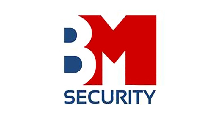 B M Security Logo