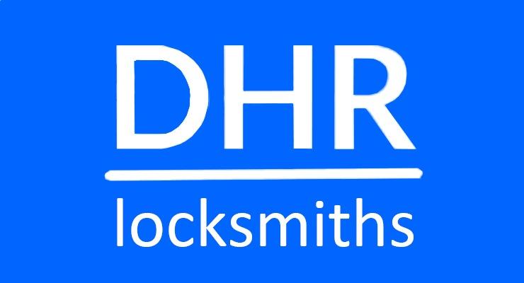 DHR locksmiths Logo