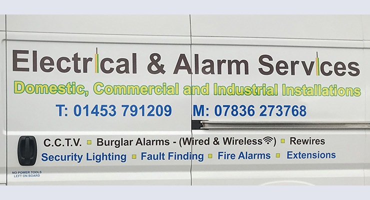 Electrical & Alarm Services Logo