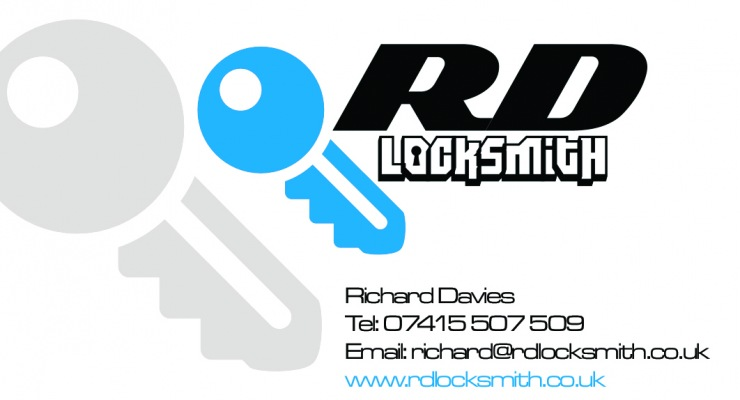 RD Locksmith Logo