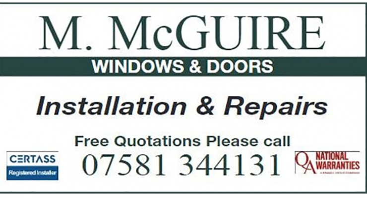 M McGuire Windows and doors