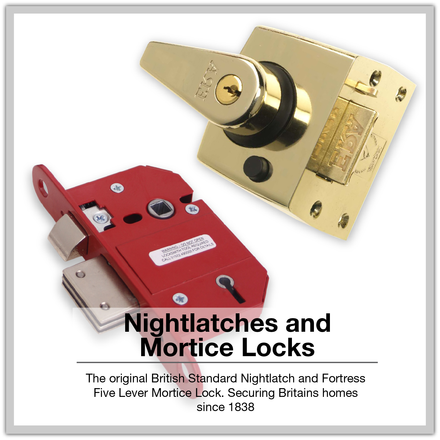 ERA Nightlatches and Mortice Locks