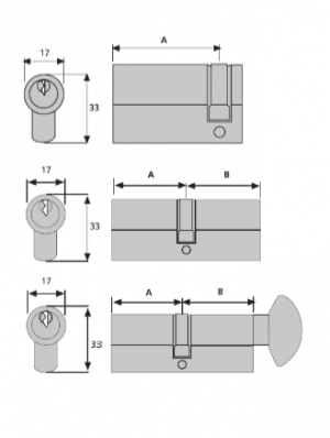 Front Cylinder Measurement Diagram