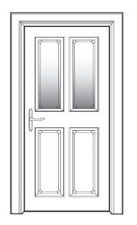 PVCu door Security Advice