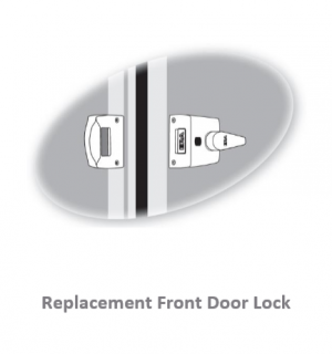 Replacement Front Door Lock