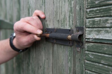 Shed Door Lock Security Tips