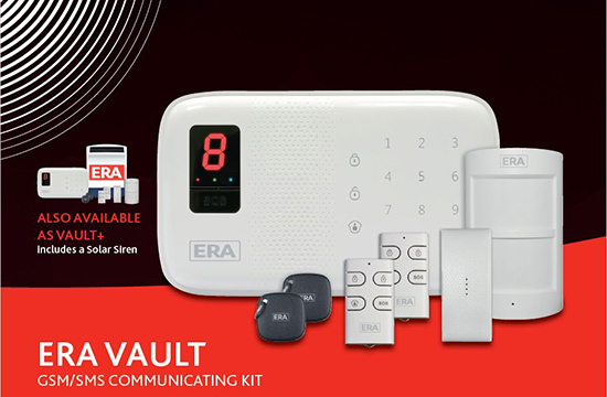 ERA Vault Communicating Smartphone Alarm System
