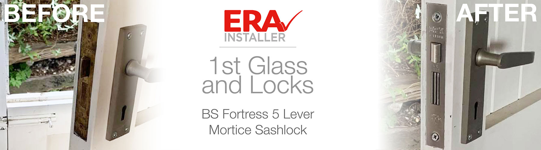 ERA Installer Testimonial 1st glass and locks fortress