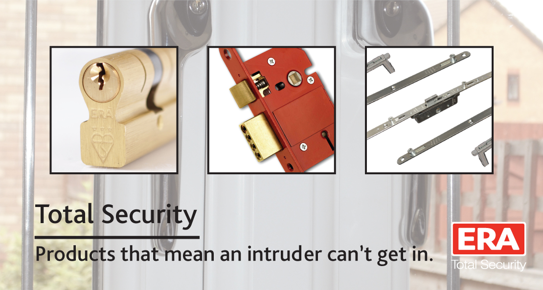 ERA Total Security Products that mean an intruder can't get in.